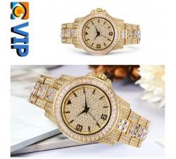 Reloj Diamonds Dorado