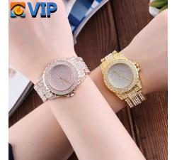 Reloj Bling Dorado
