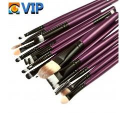 Set de Brochas en negro y púrpura